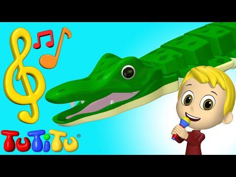 Piosenki I Karaoke | Krokodyl | Nauka Angielskiego Dla Dzieci
