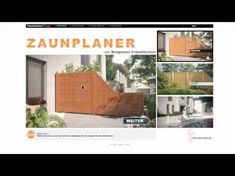 Online-Zaunplaner Von Brügmann TraumGarten - Wunschzaun In 4 Schritten