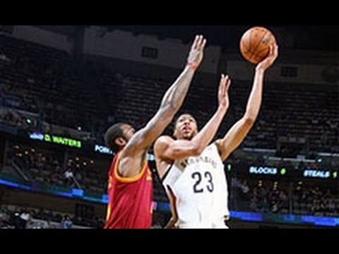 Anthony Davis Helps Pelicans to Close Win Over Cavs