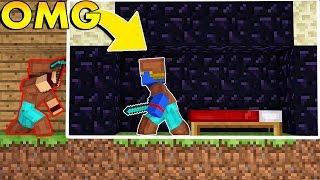 Minecraft: CASA DE OBSDIAN | Afreim [ BedWars ]