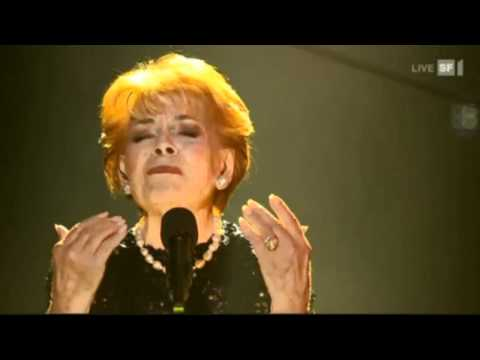 "Lys Assia ""C'etait Ma Vie""  (LIVE 10-12-2012 SWITZERLAND)"
