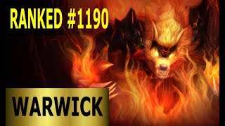 Warwick Jungle   Full League of Legends Gameplay [German] Lets Play LoL Ranked #1190