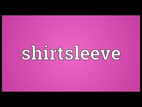 Header of shirtsleeve