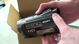Chilla Frilla - Sony HDR-CX550V Camcorder Unboxing