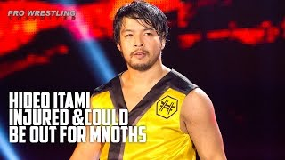 Hideo Itami Injured At Live Event & Could Be Out For Months (Video)