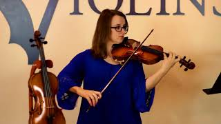 The Louis Carpini Master Series Violin ~ Excerpt from Vivaldi Violin Concerto in A Minor| KV