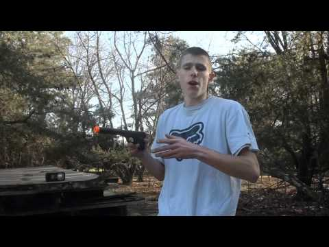 HFC Colt .25 Airsoft Gas Pistol Chrono/Shooting