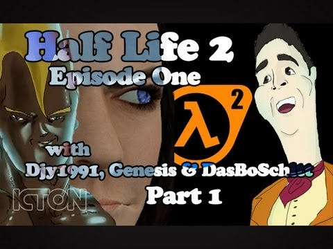 LP: Half Life 2 Episode 1 with Djy1991, Genesis &amp; Das Bo Schitt! [Part 1]