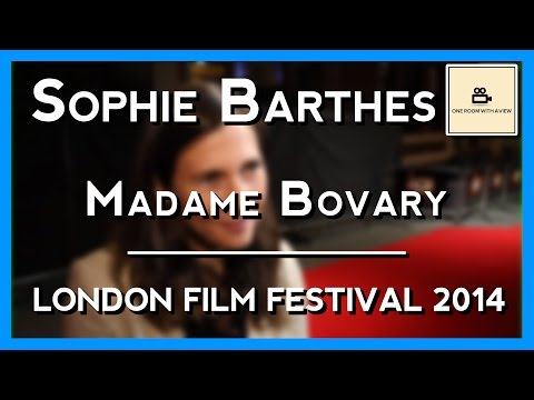 Sophie Barthes on the 'Madame Bovary' red carpet | BFI LFF 2014