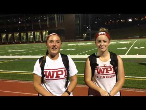 WPI Field Hockey Post-Game Interview - MacKenzie Brandes and Allie Buckley