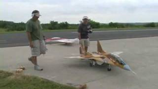 RC Jet - Mig 29 - Turbine Power