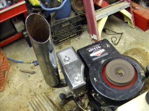 Custom Lawn Mower Stack