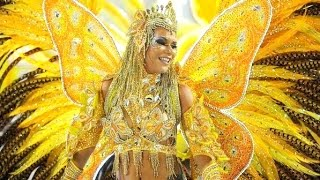 NATÁLIA NORBERT: SÃO CLEMENTE CARNIVAL DIVA AT THE TECHNICAL REHEARSAL OF 2012 IN RIO