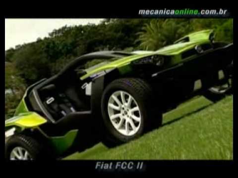 Fiat FCC II - o carro elétrico da Fiat Video