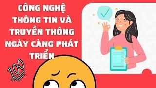Học viên MC Tiến Đạt nói về công nghệ thông tin và truyền thông
