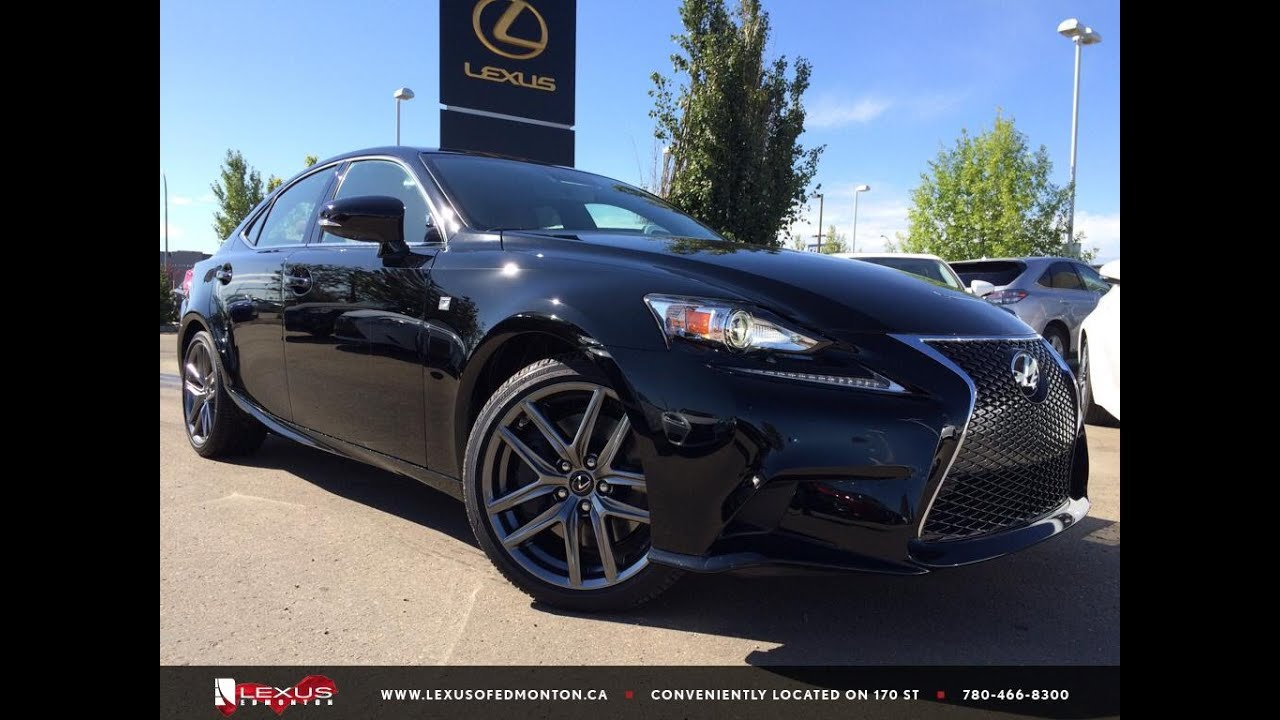 2016 lexus is 300 awd f sport review youtube
