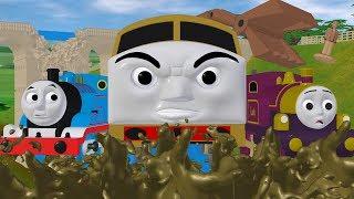 TOMICA Thomas and Friends Short 50: Magic Railroad Mayhem (Draft Animation - Behind the Scenes)