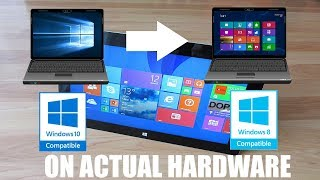 Downgrading from Windows 10 to Windows 8.1  (ACTUAL HARDWARE)