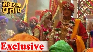 Bharat Ka Veer Putra Maharana Pratap  17th September 2014 Episode 280 –  EXCLUSIVE WEDDING CEREMONY