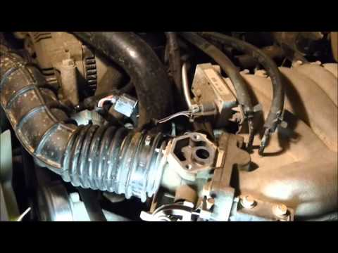 2015 How To Fix A Car That Idles Poorly (Clean the IAC)