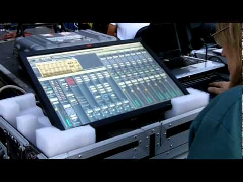 Tesla, SAC software mixer and the 3M Multitouch Monitor