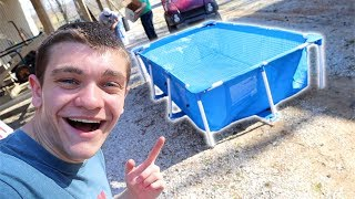 NEW MASSIVE POOL POND!!! *Huge*