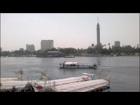 Nile River, Cairo, Egypt, North Africa, Africa