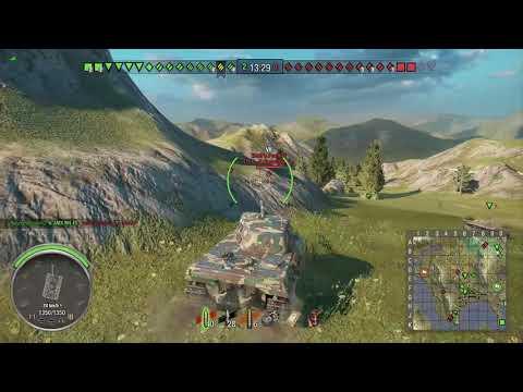 World of Tanks Xbox one AMX M4 mle. 45 3 Kills