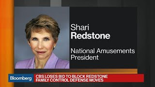 CBS Loses Bid to Block Redstone Family Control