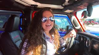 Mo From 100.3 The Bull Test Drives A Jeep Wrangler From Bayway