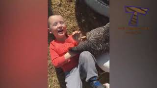 You'll FORGET CATS & DOGS when you see FUNNY KIDS vs FARM ANIMALS!   This is a LAUGH BOMB