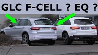 Mercedes Erlkönig GLC F-CELL, EQ, Facelift ? X253 2018 prototype GLC F-CELL or Facelift? SPY VIDEO