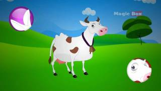 COW - MALAYALAM CARTOON NURSERY RHYMES - KINGINI CHELLAM