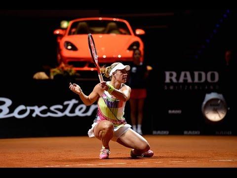 2016 Porsche Tennis Grand Prix Quarterfinal | Angelique Kerber vs Suarez Navarro | WTA Highlights
