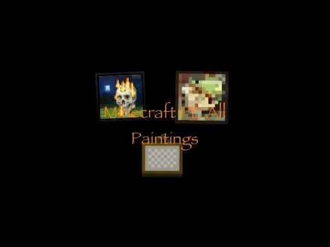 Minecraft Pocket Edition All Paintings