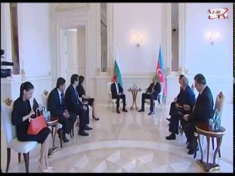 President Ilham Aliyev and President of Bulgaria Rosen Plevneliev held an expanded meeting