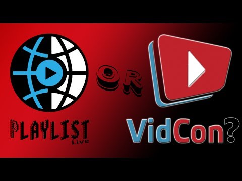Playlist Live,Vidcon, & March Madness  #Q4Destiny