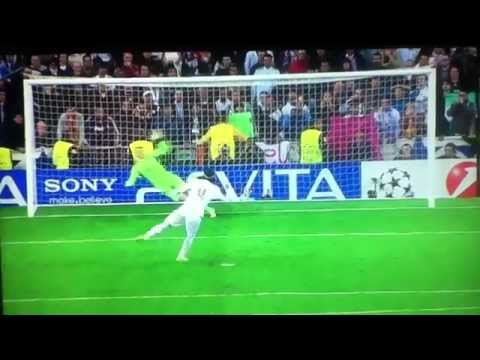 Sergio Ramos Penalty Miss - Real Madrid vs Bayern Munich - 25.04.2012
