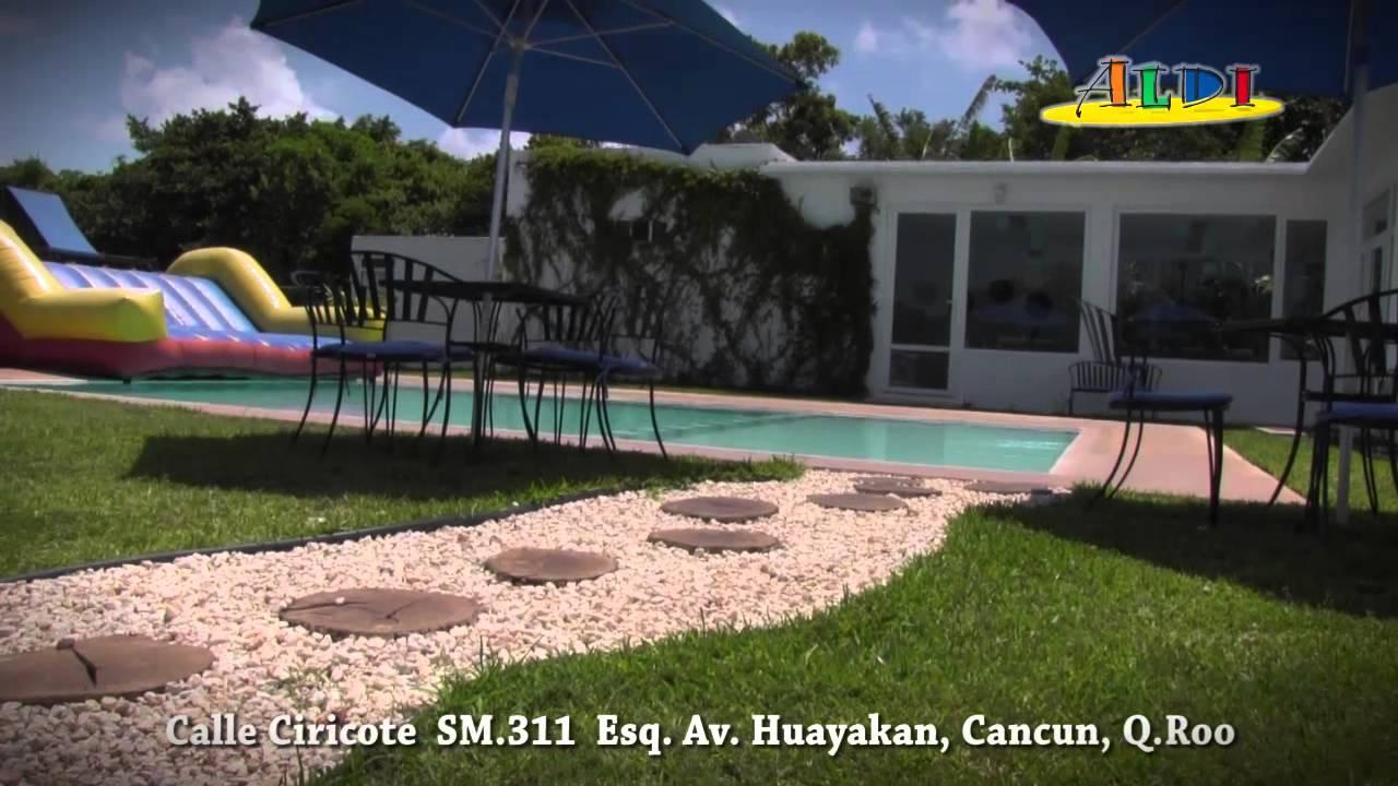 Aldi salon de fiestas en cancun youtube for Abrakadabra salon de fiestas