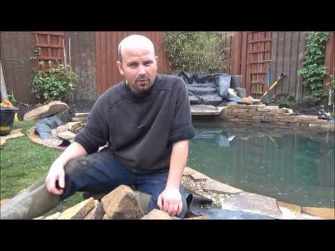 HOW TO BUILD A FISH POND BY PONDGURU - POND AT NORTH SHIELDS