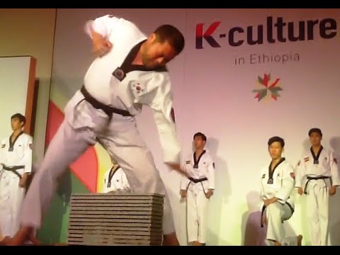 Amazing Korean Performance In Ethiopia
