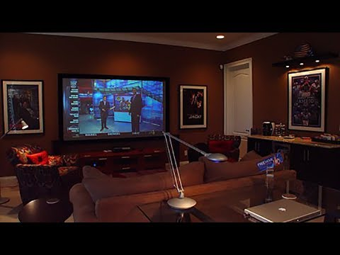HGTV Dream Home Giveaway 2014: 75-inch TV makes media room perfect