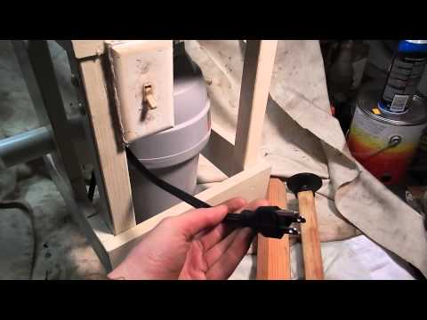 Apple Grinder Made From Garbage Disposal - Make Your Own Cider!