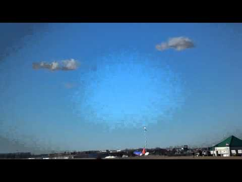 Southwest airlines Boeing 737 successfully takes o