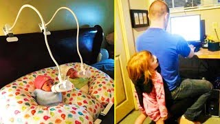 Cool Parents Who Learned To Take Everything Easy 「 funny photos 」