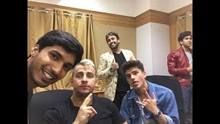 Download Lagu Hanging out with VITALY, JUSTSUL and DANISH SAIT Bangalore (INDIA) 2018 Gratis STAFABAND