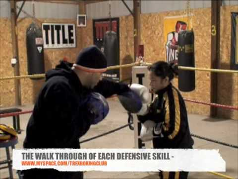 Coach Rick Women Boxers Training Mayweather Style Boxing Defense & Mittwork Image 1