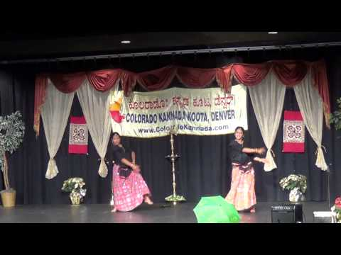 2013 11 Gandhadagudi girls dance