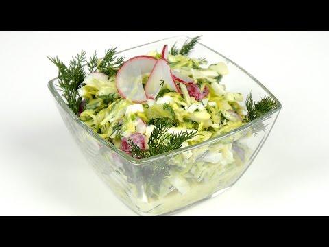 Простые и легкие салаты с майонезом рецепты с