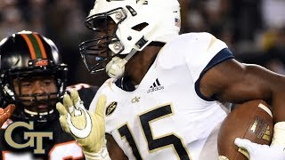 Georgia Tech RB Jerry Howard Top Plays 2018